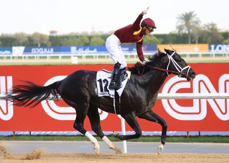 Stay Thirsty's son Coal Front Wins Dubai