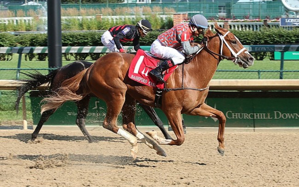 Phantom Boss, Cholula Lips finished first and second in Churchill Downs stakes.